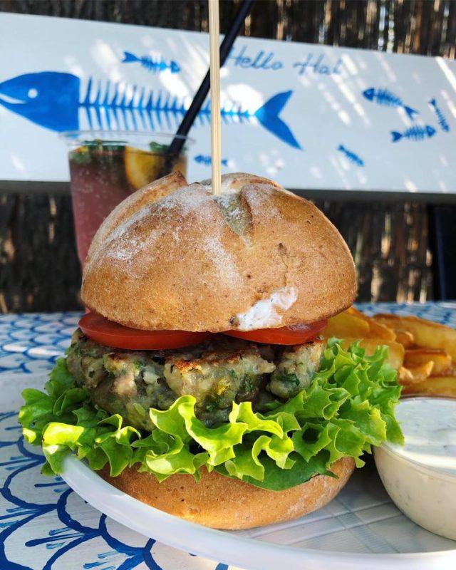 A hamburgernél csak a halburger jobb!