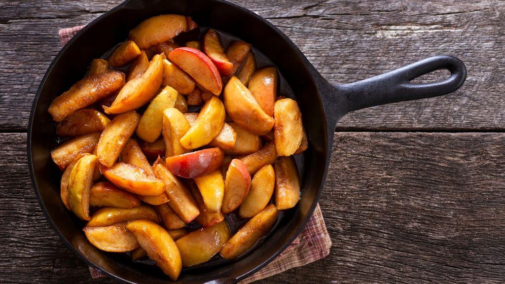 Készíts köretet az almából!