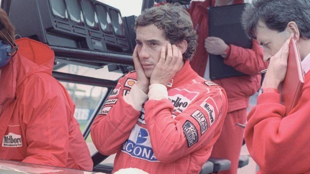 Ayrton Senna Forma–1-es autóversenyző