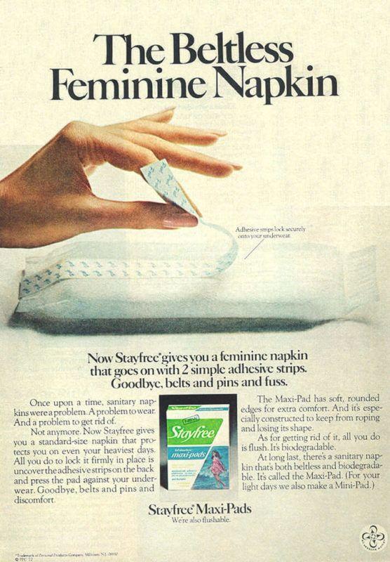 Így változtak a menstruációs termékek a történelem során