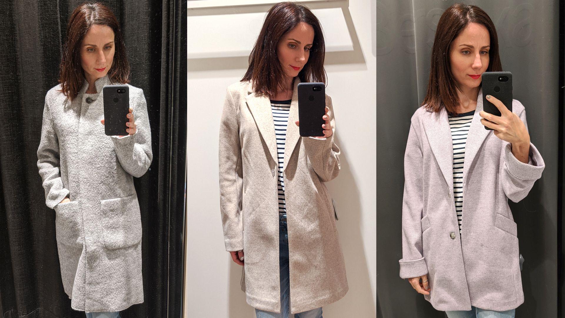 Egyenes szabású kabátok: Tom Tailor - Orsay - Bershka