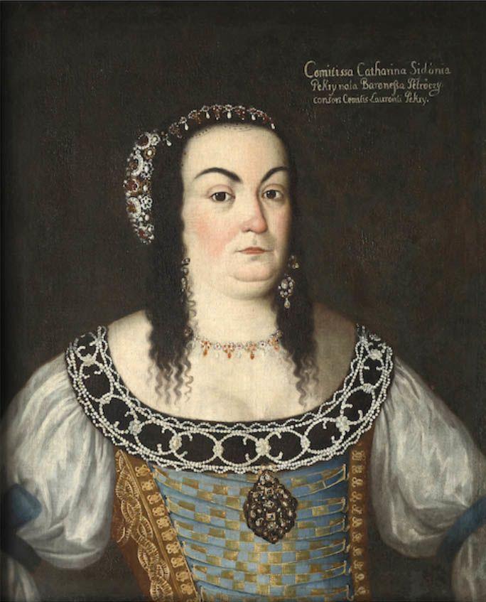 Petrőczy Kata Szidónia portréja (forrás: Wikipedia)
