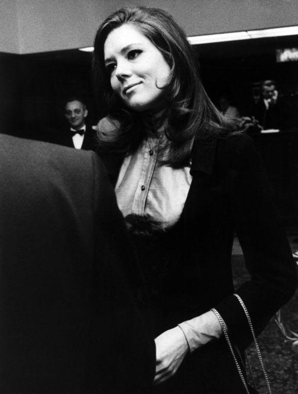 Diana Rigg színésznő 1968-ban (Fotó: Wilhelm Bertram / DPA / dpa Picture-Alliance via AFP)