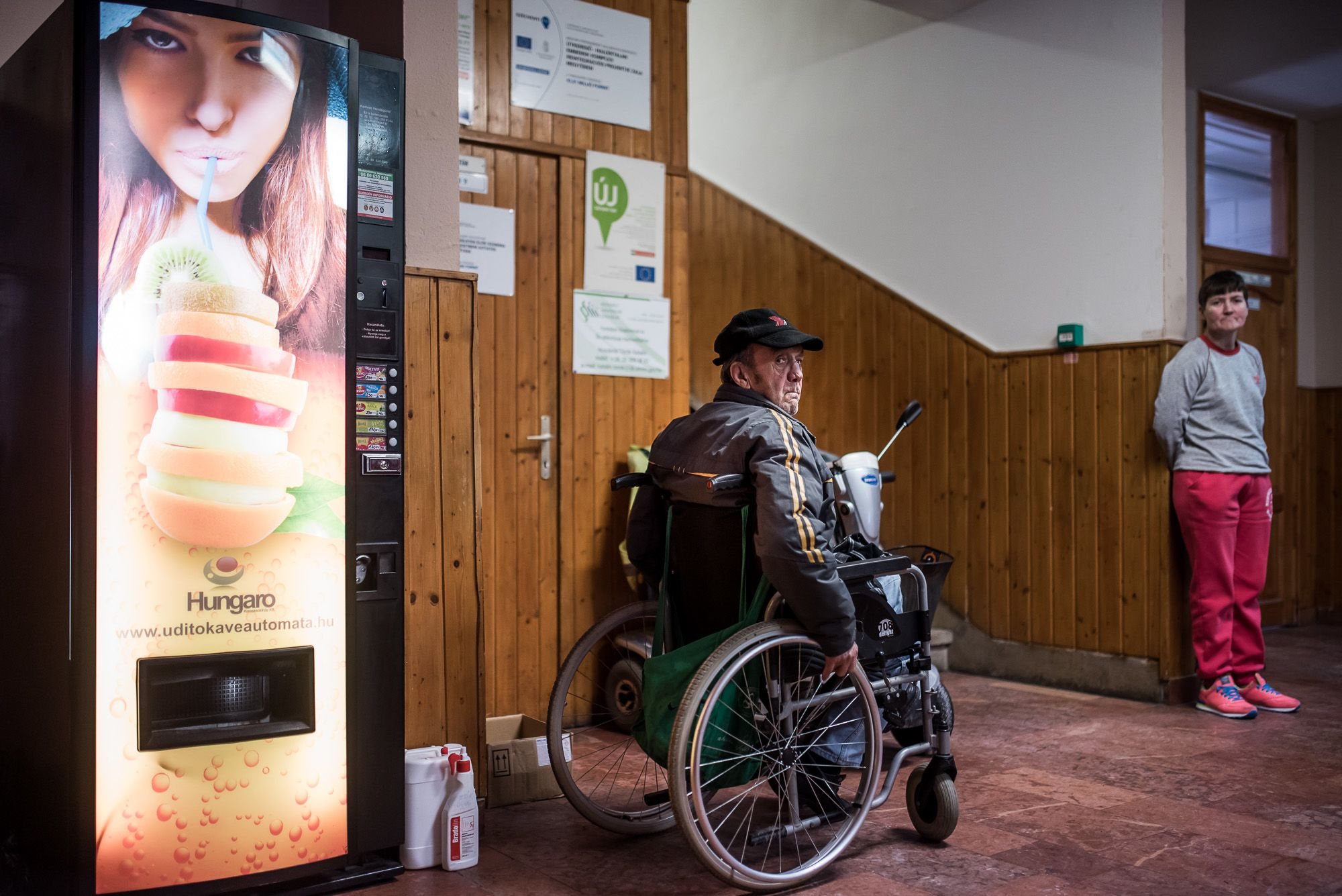 Hajléktalanszálló Zalaegerszegen (fotó: Neményi Márton)