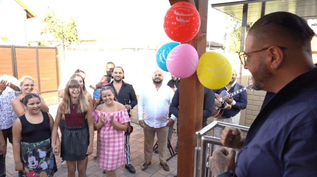 Emilio születésnapi meglepetés bulija