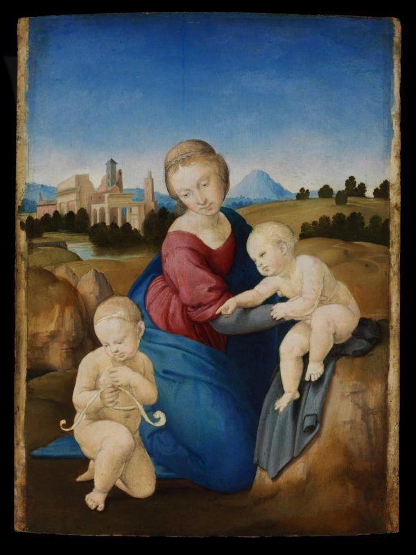Raffaello Esterházy Maddonna festménye