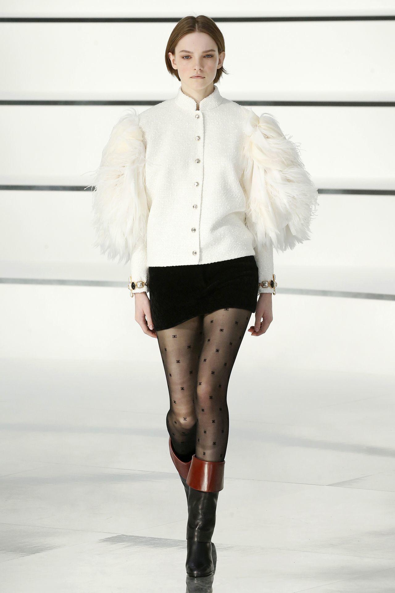 Chanel puffos ujjú kabát