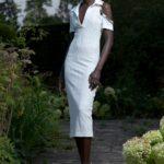 fehér ruha David Koma