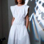 fehér ruha Eudon Choi