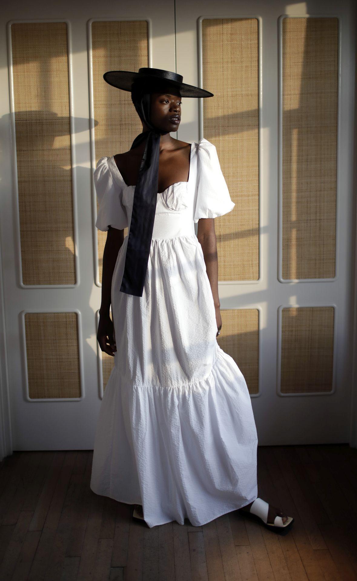 fehér ruha Maison Bent