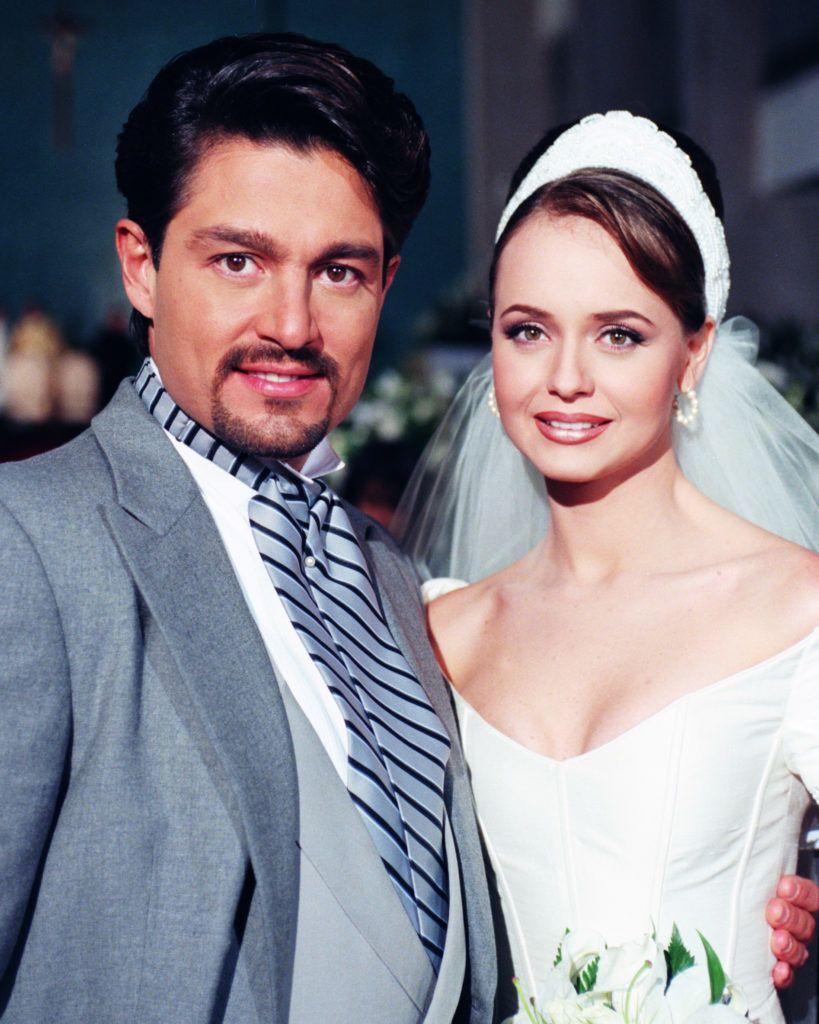 Fernando Colunga és Gabriela Spanic a Paula és Paulina sorozatban