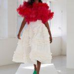fodros ruha Molly Goddard kollekció