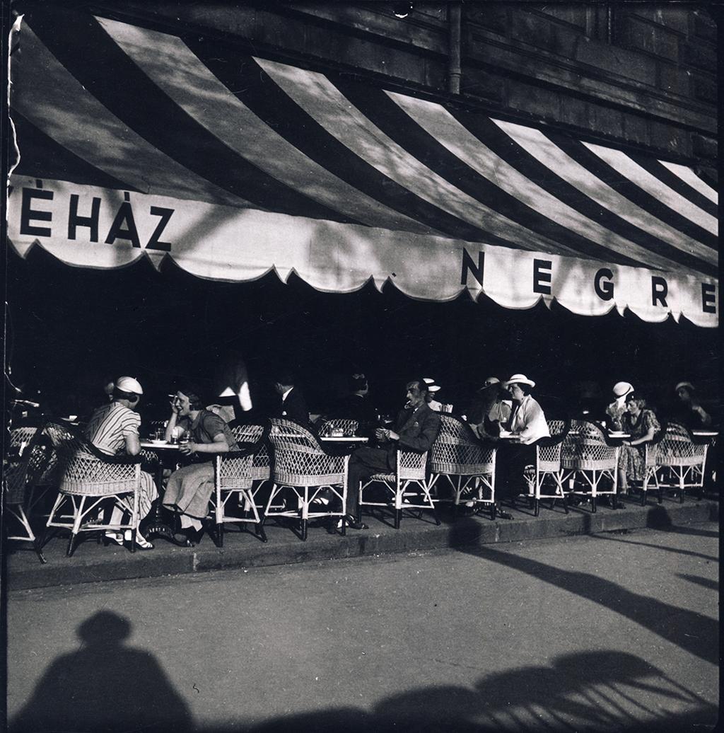 A Negresco kávézó 1937-ben