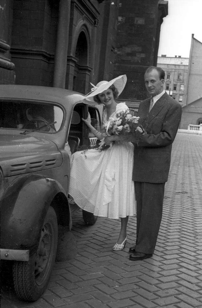 Esküvő az 1950-es években
