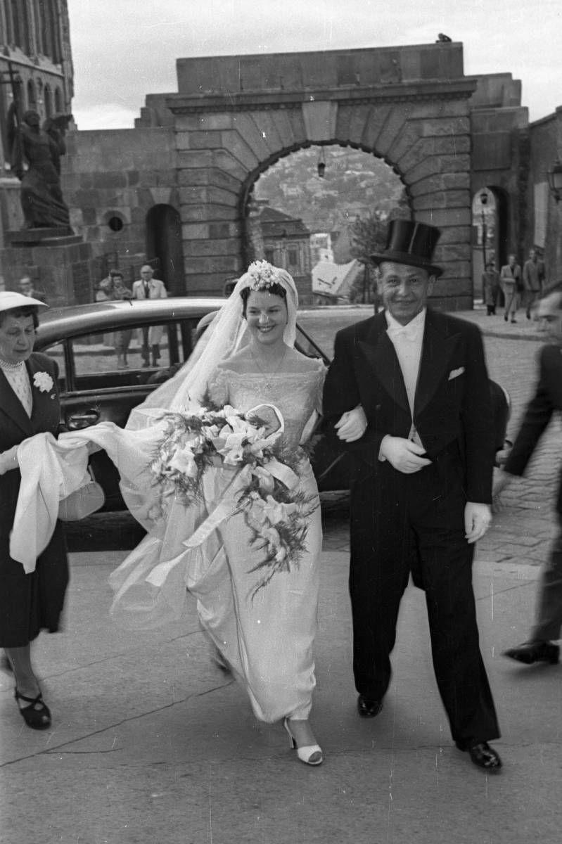 Esküvői az 1950-es években
