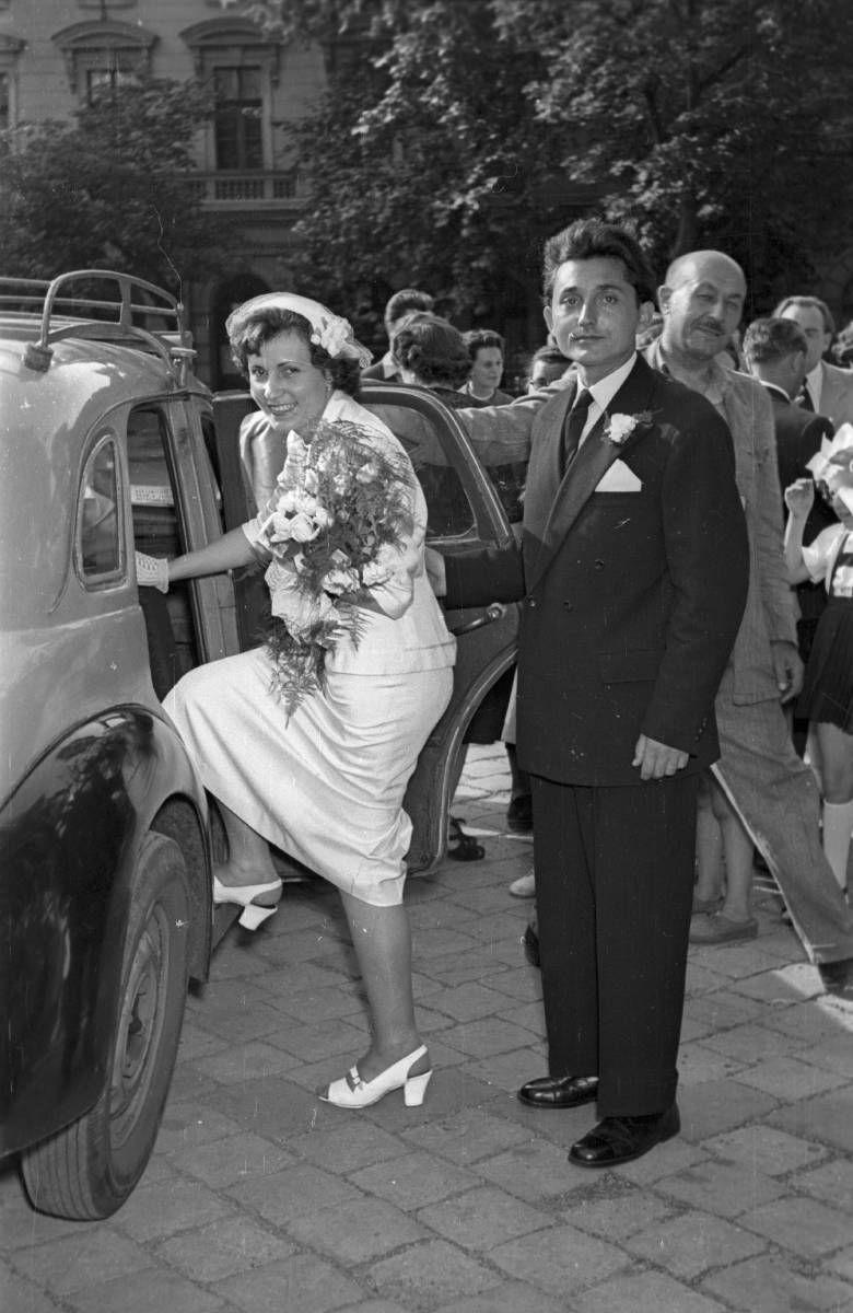 Esküvő 1956-ban