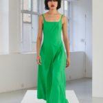 Molly Goddard zöld ruha