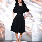 Eudon Choi fekete ruha
