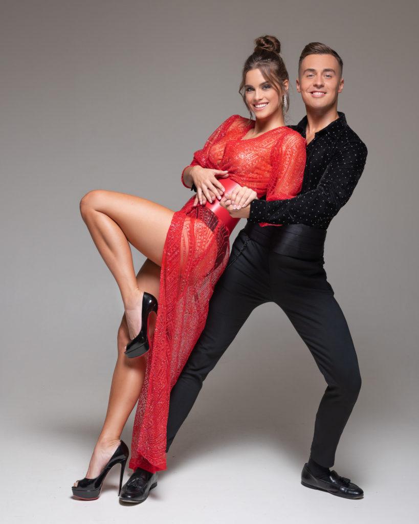Gelencsér Timi és táncpartnere (Fotó: TV2)