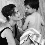 Romy Schneider és fia