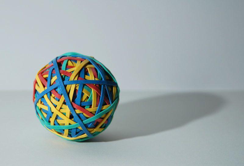 Befőttes gumi labda