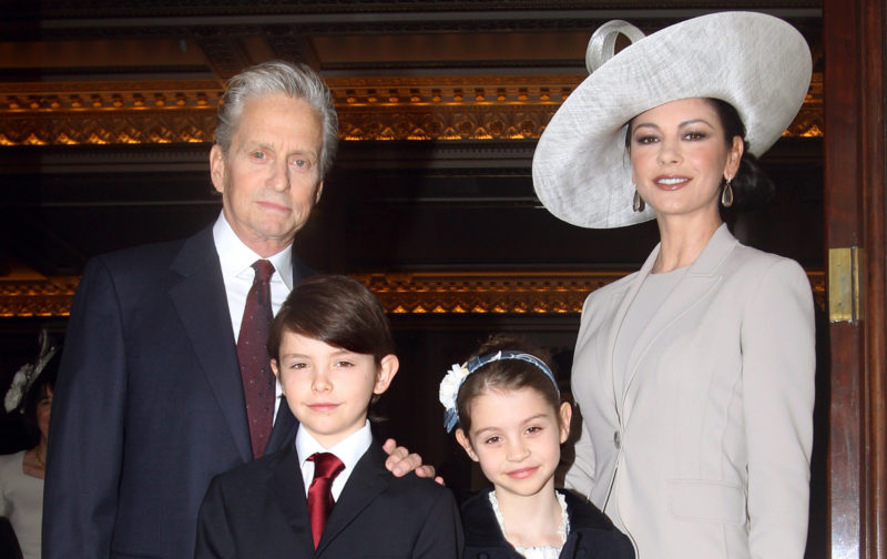 A család 2011-ben (Fotó: Lewis Whyld - WPA Pool/Getty Images)