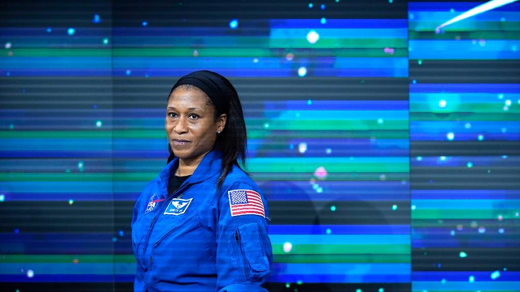 Jeanette Epps egy 2019-es NASA sajtóeseményen (fotó: John Lamparski/Getty Images)