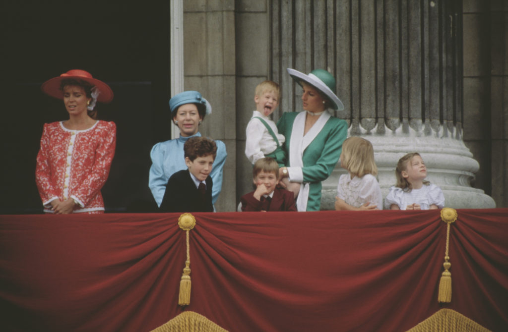 Harry herceg gyerkkorában