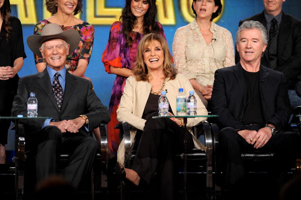 A Dallas reboot sajtótájékoztatóján 2012-ben