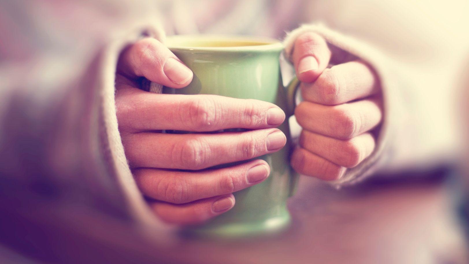hideg kezek tea