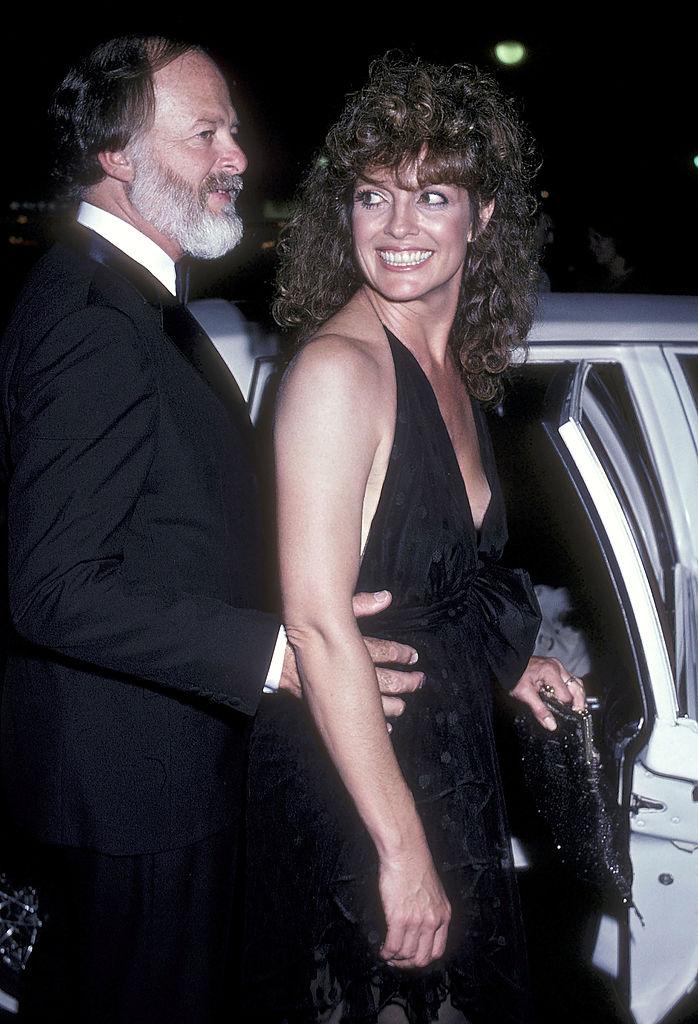 Linda Gray és férje, Ed Thrasher