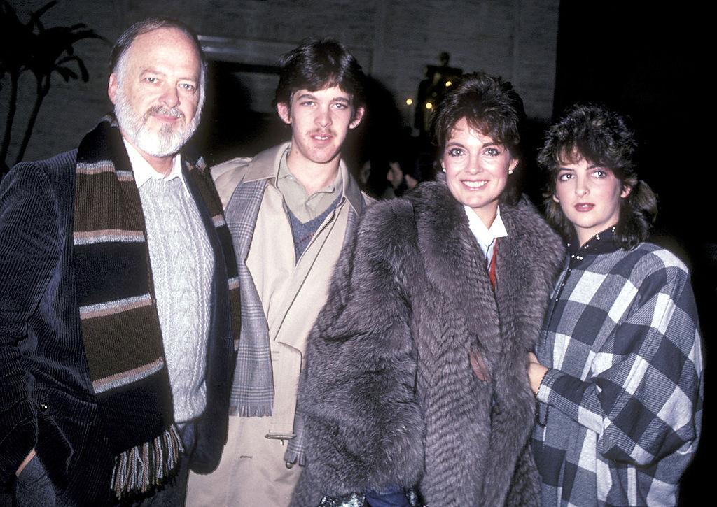 Linda Gray és családja