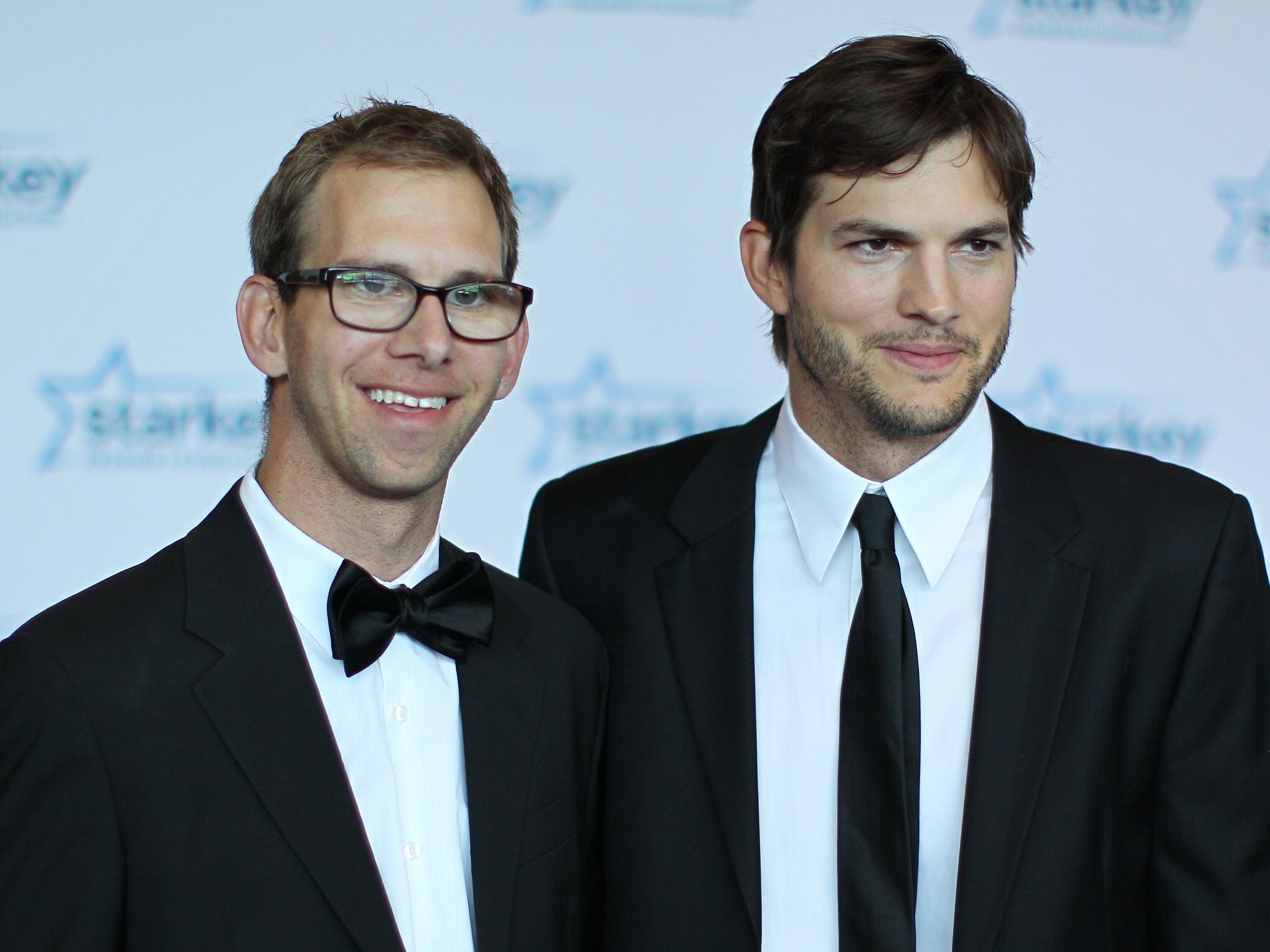 Ashton és Michael Kutcher