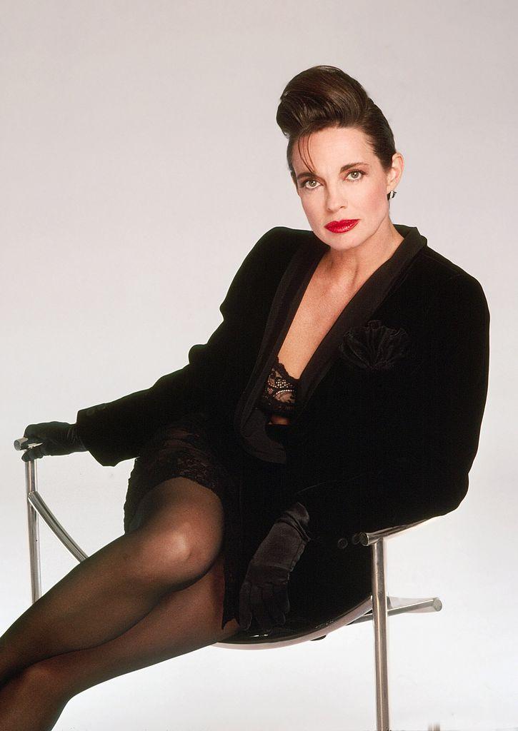 Stúdiófotózáson, 1989-ben