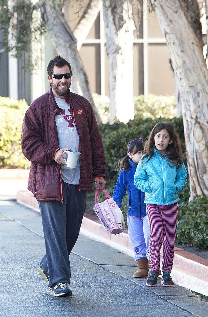 Adam Sandler és lányai, Sadie Sandler és Sunny Sandle