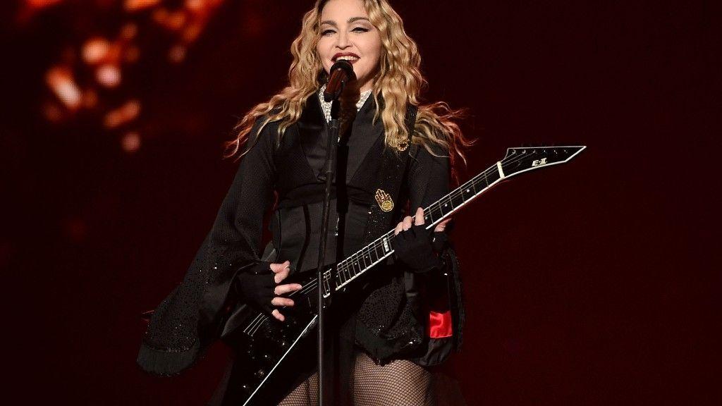 Madonna koncertet ad Nashville-ben (fotó: John Shearer/Getty Images)