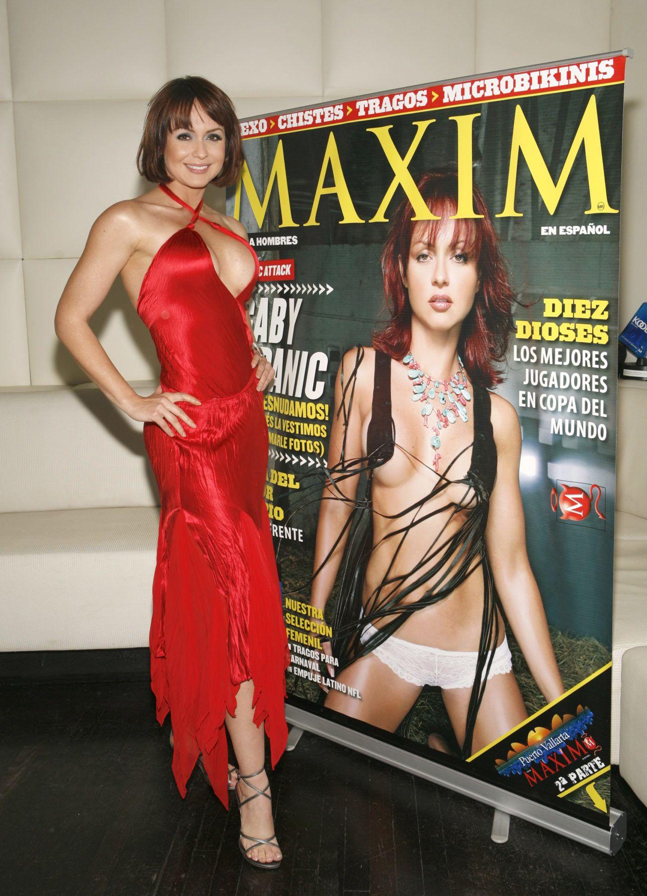 Gabriela Spanic Maxim címlapján.