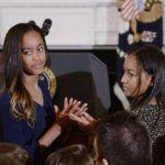Sasha és Malia Obama