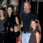 Demi Moore, Bruce Willis, Rumer Willis, Tallulah Willis és Scout Willis