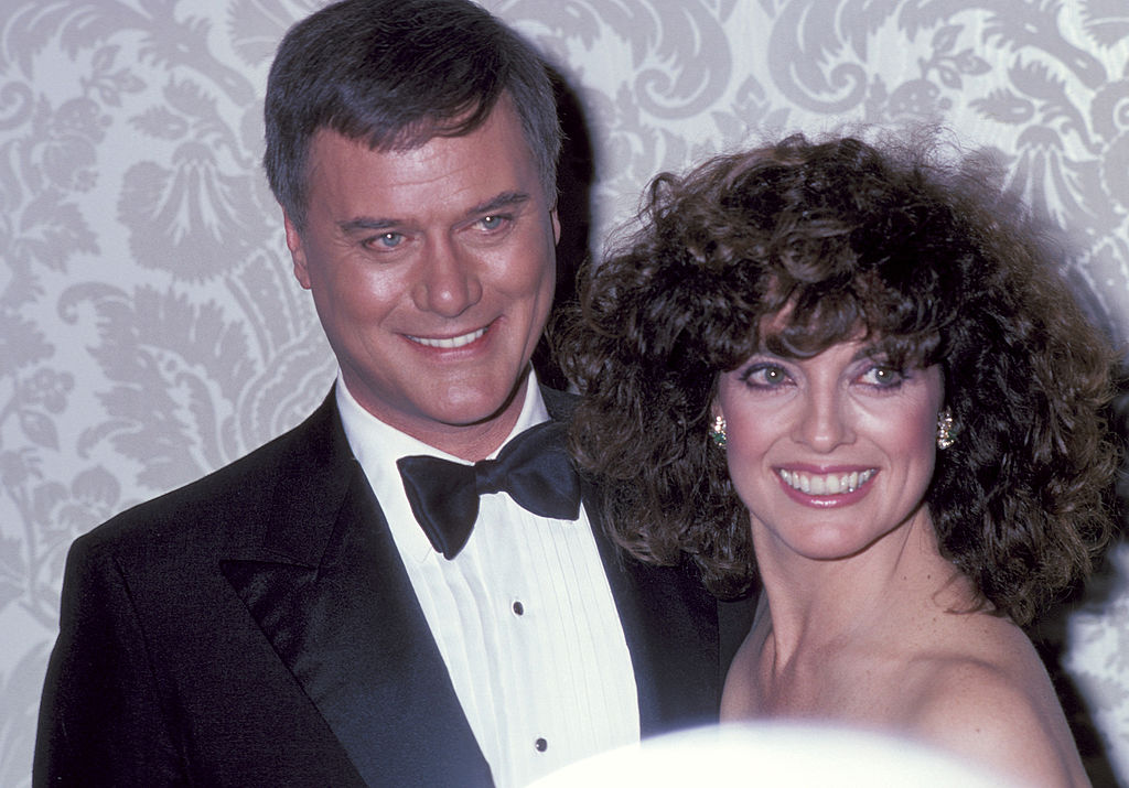 Linda Gray Larry Hagman