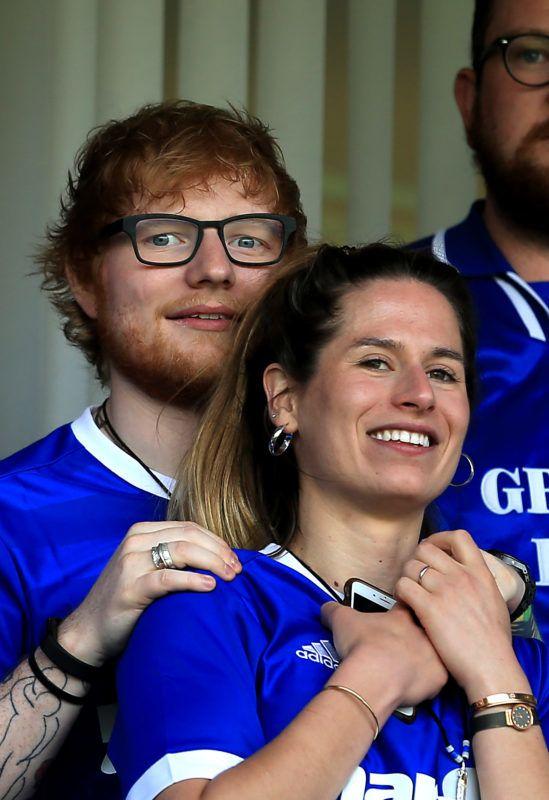 Ed Sheeran menyasszonya Cherry Seaborn