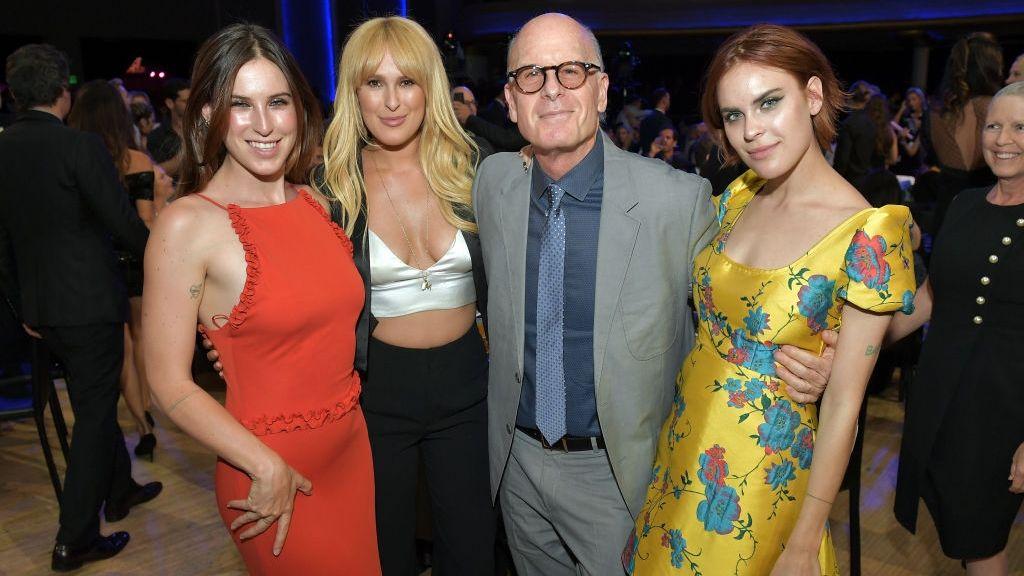 Bruce Willis és felnőtt lányai