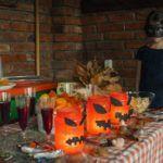 Halloween tök, faragás nélkül