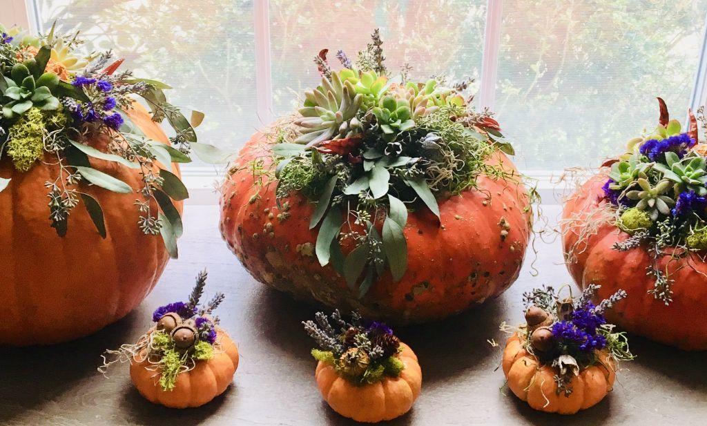 Tökfaragás nélkül is lehet tökös dekorációd halloweenre