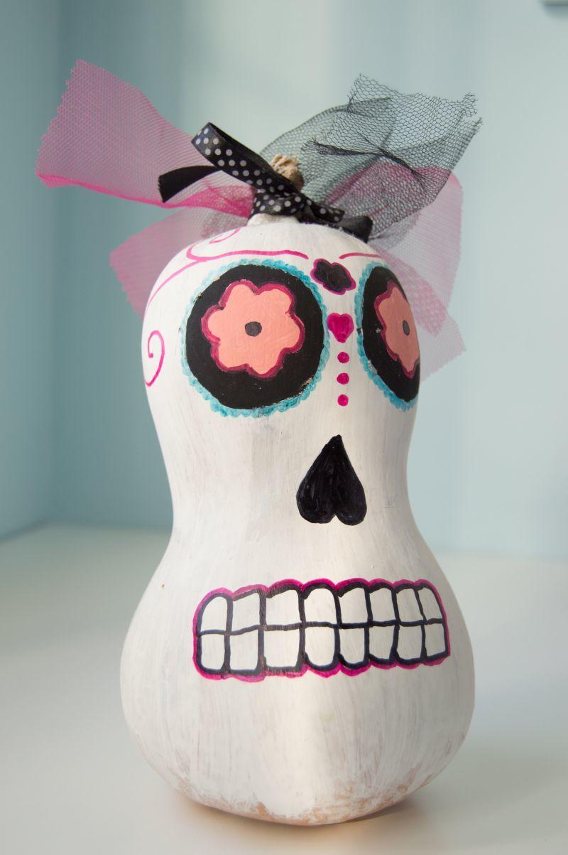 Tökfaragás nélkül dekoráció halloweenre