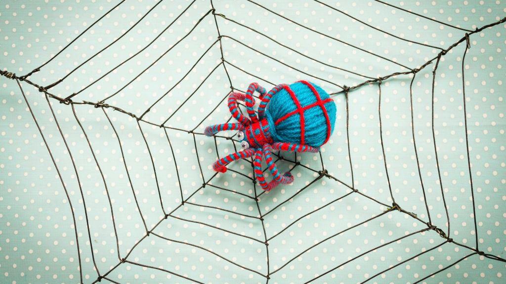Így kell halloweeni pókhálót készíteni