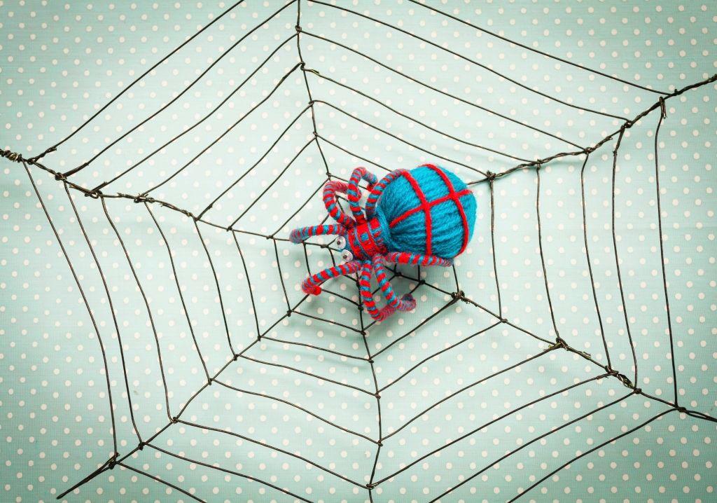 Készíts halloweenre pókhálót