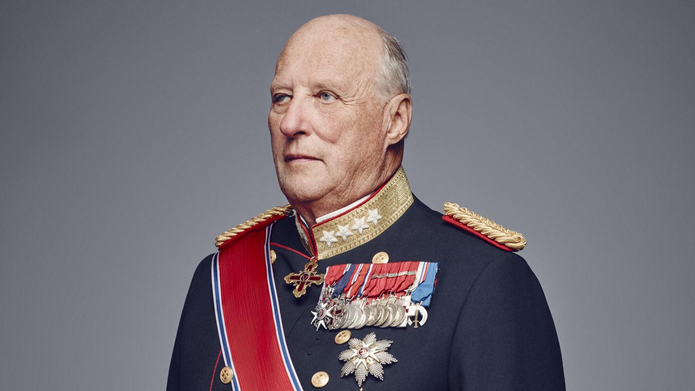 Légzési nehézségekkel került kórházba Harald (Fotó: https://www.royalcourt.no/)
