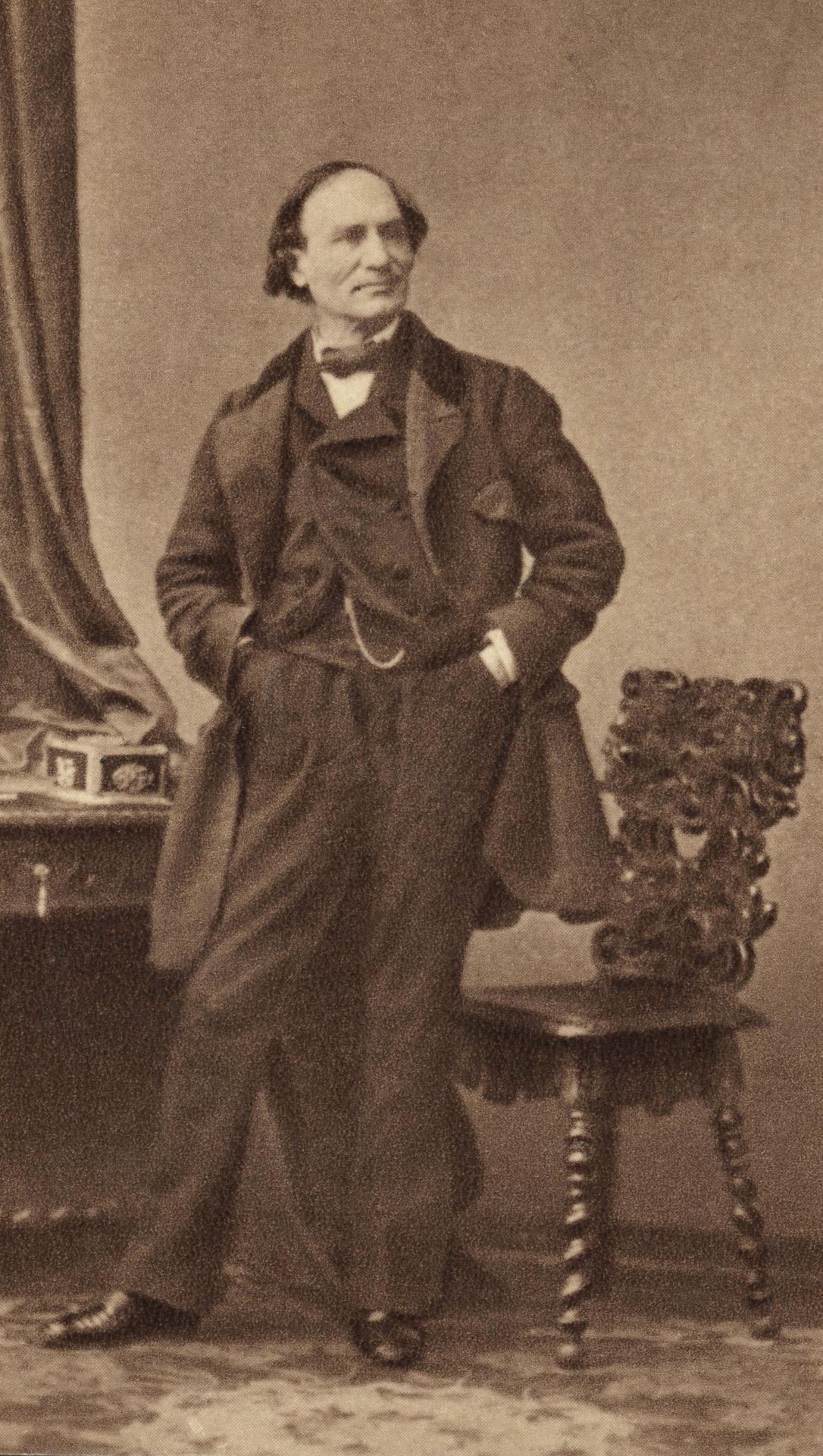 Robert-Houdin Jean EugËne known as Houdini1805-1871Photographed in 1855MagicianParis, Fondation NapolÈon