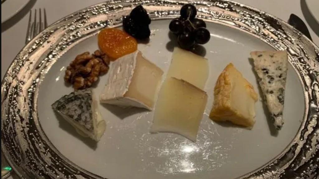 Az elhíresült sajttál Gordon Ramsay éttermében (fotó: Tripadvisor)
